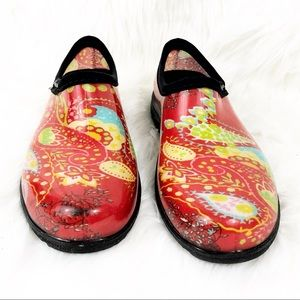 Sloggers Paisley Garden Shoes Size 8